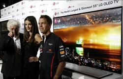 LG presenta en Mónaco su televisor OLED de 55 pulgadas