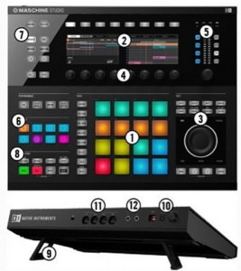 maschine-studio-controles