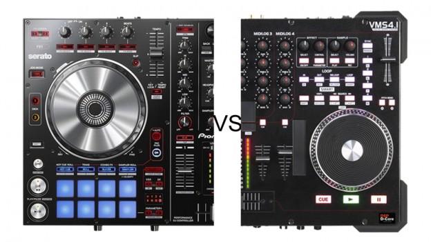 PIONEER DDJ-SR VS AMERICAN AUDIO VMS4.1