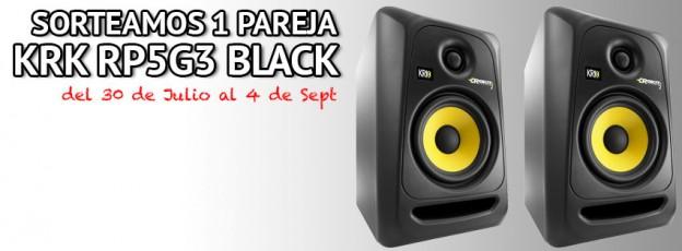 Sorteo altavoces KRK RP5G3 Black