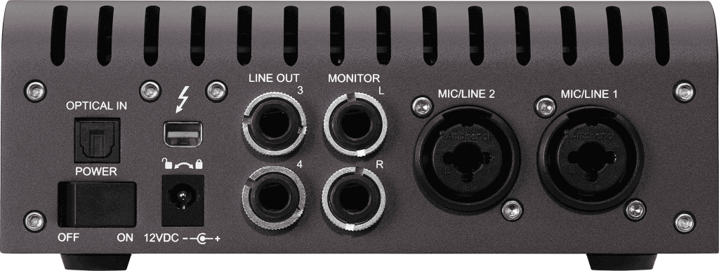 Universal Audio Apollo Twin MKii Back
