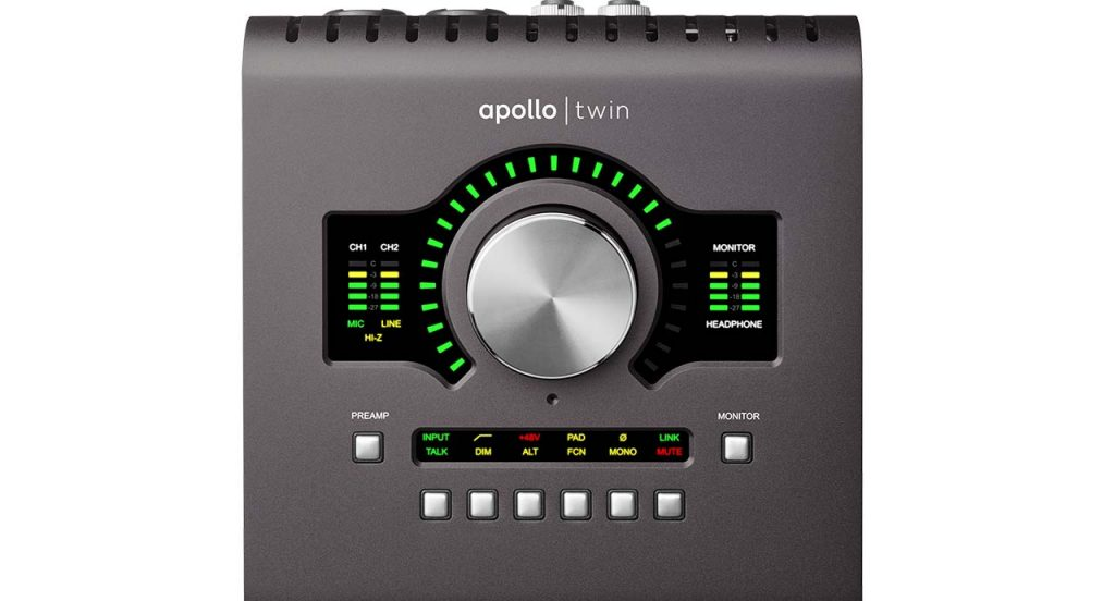 Universal Audio Apollo Twin MKII Up