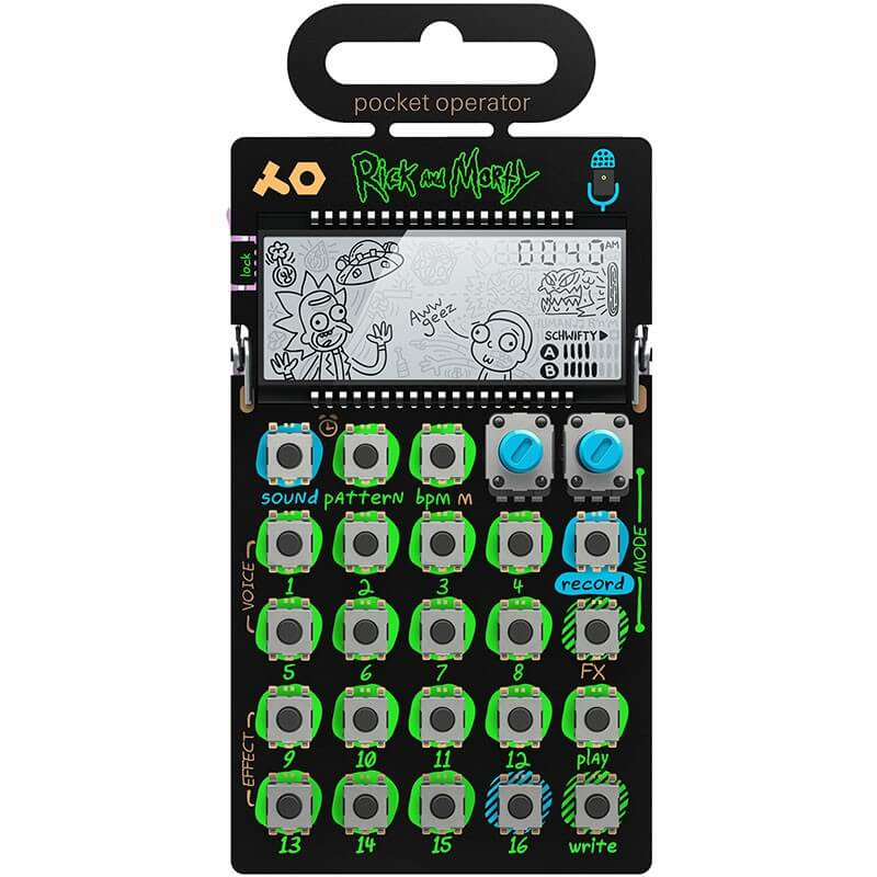 Teenage Engineering PO-137: Rick y Morty