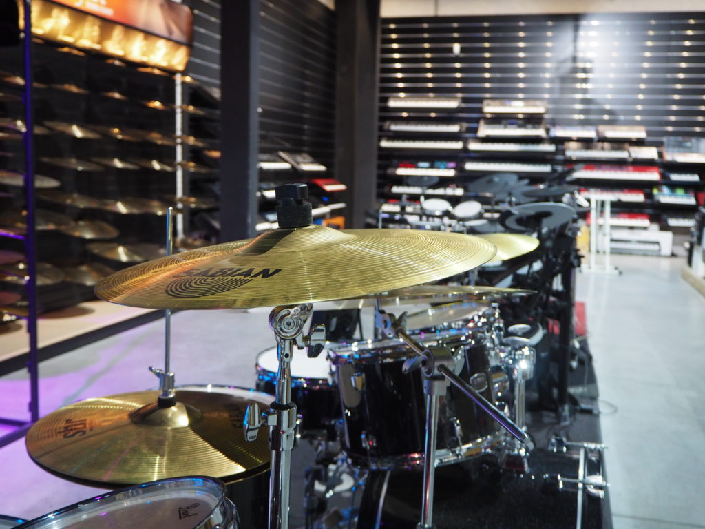 bateria showroom