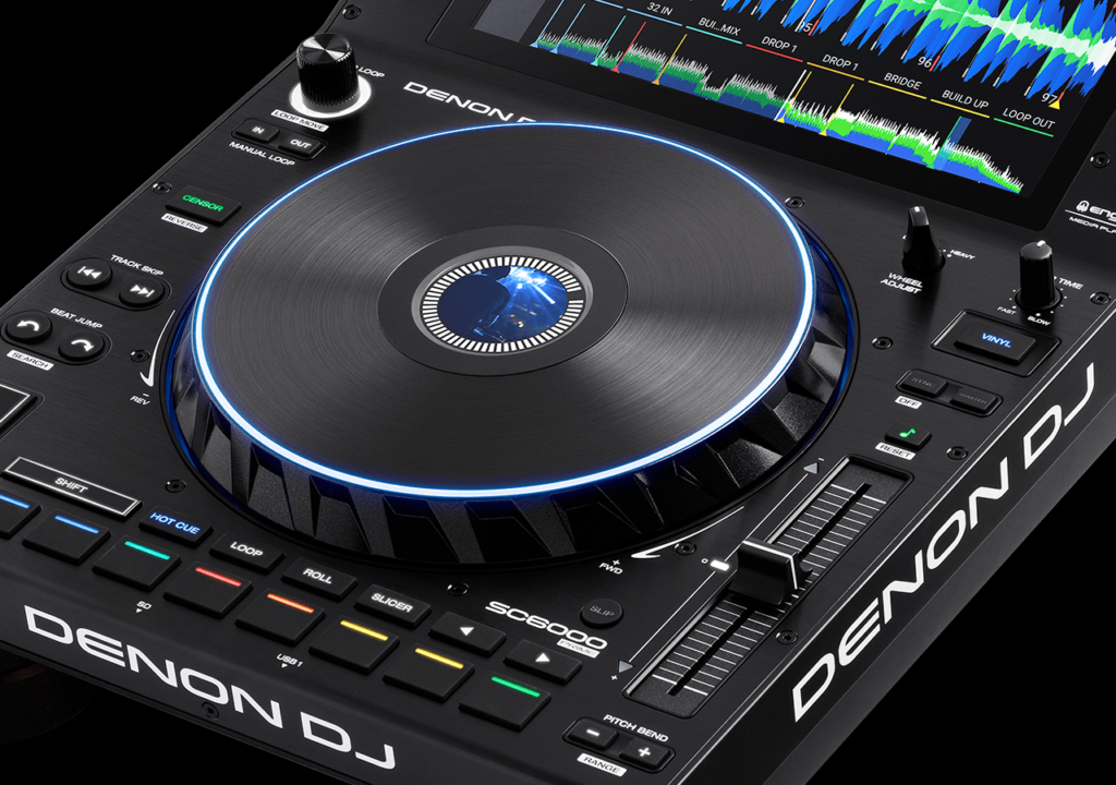 Denon DJ SC6000 vista superior