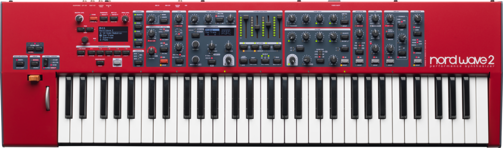 Nord Wave 2 vista superior