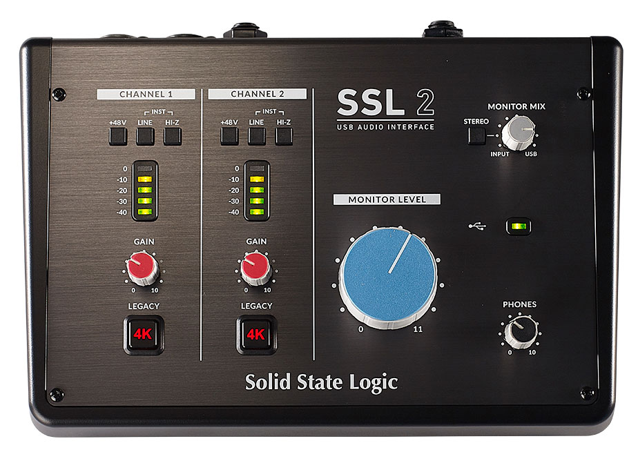 SSL 2 Vista Superior