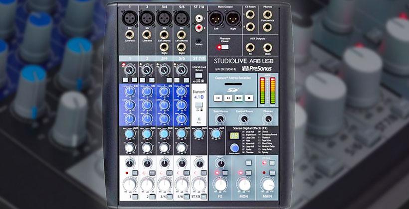 Presonus-Studiolive-Ar8-Usb