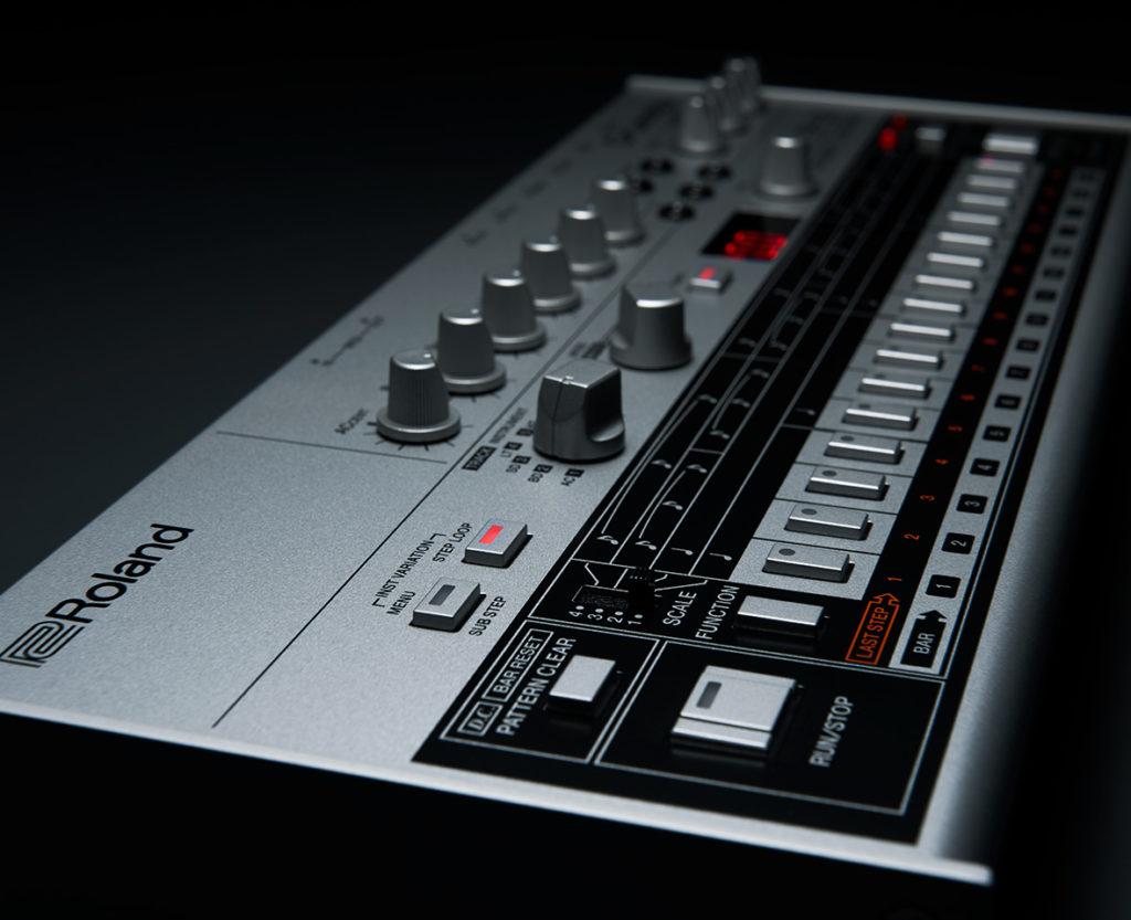 Roland TR06 Vista Lateral