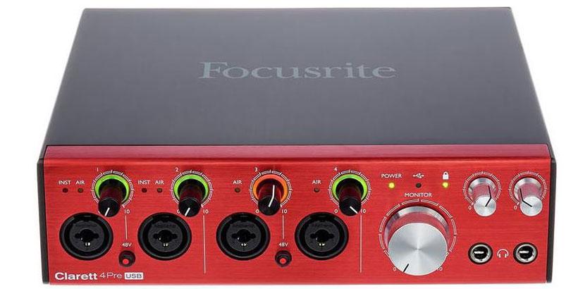 Interfaz-Focusrite